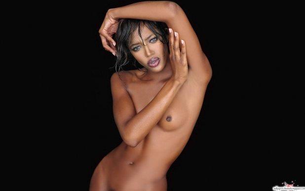 голая черная женщина фото