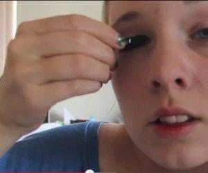 Râzi cu lacrimi! S-a îmbătat mangă și a vrut să se machieze: Rezultatul e SPECTACOL PUR (VIDEO)