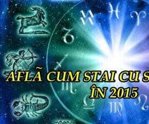 HOROSCOP 2015 pentru SĂNĂTATE! Află ce te aşteaptă şi cum te vei simţi în anul următor