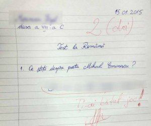 REVOLTĂTOR! Vezi ce a spus un elev despre Mihai Eminescu chiar de ziua poetului! E VIRAL!
