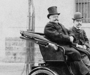 """""""Baronul Bellu, cel cu automobelu'"""" a adus prima mașină care a circulat, vreodată, în România: Un Peugeot de PATRU cai putere, care prindea 18 km/h"""