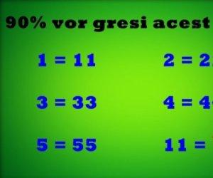 TESTUL care îți probează VIGILENȚA! 8 din 10 nu-l nimeresc: Crezi că ai dat rezultatul corect?