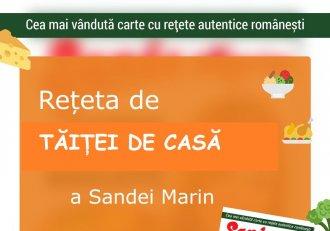 Se spune că domnii ar fi luat-o de nevastă doar pentru acest deliciu culinar! Sanda Marin, doamna bucătăriei românești, îți arată cum să faci TĂIȚEI DE CASĂ