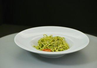 Paste cu sos pesto. Un preparat aromat, simplu și ușor, cu ingrediente la îndemâna tuturor!
