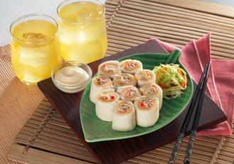 Rulouri cu ton, rețeta ideală pentru o masă rapidă și extrem de gustoasă!