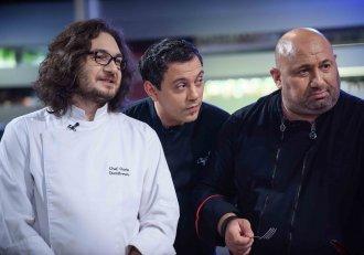 """A început o nouă bătălie la """"Chefi la cuțite""""! """"Trebuie să frecați brânza, asta e proba"""""""