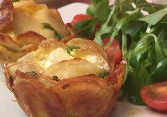 Cuiburi de cartofi delicioși cu suflet cremos! Mănânci de nu te mai oprești!