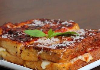Pizza pentru leneși! Rețeta preferată e gata îndată, cu doar câteva ingrediente!