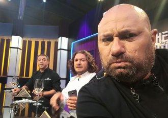 Chef Cătălin Scărlătescu, așa cum nu l-ai mai văzut vreodată: slab și cu păr! Sigur nu l-ai fi recunoscut