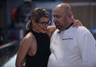 """Gina Pistol către chef Scărlătescu:  """"Dacă ajungi la 90 de kilograme, am rochia de mireasă în mașină!"""""""