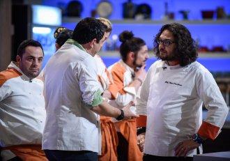 """""""De ce ești mizerabil?"""" Chef Dumitrescu, la cuțite cu chef Bontea! Liderul portocaliilor a plecat din bucătărie"""