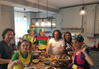 Gașca Zurli a invadat bucătăria lui chef Florin Dumitrescu! Și a urmat o surpriză de zile mari!