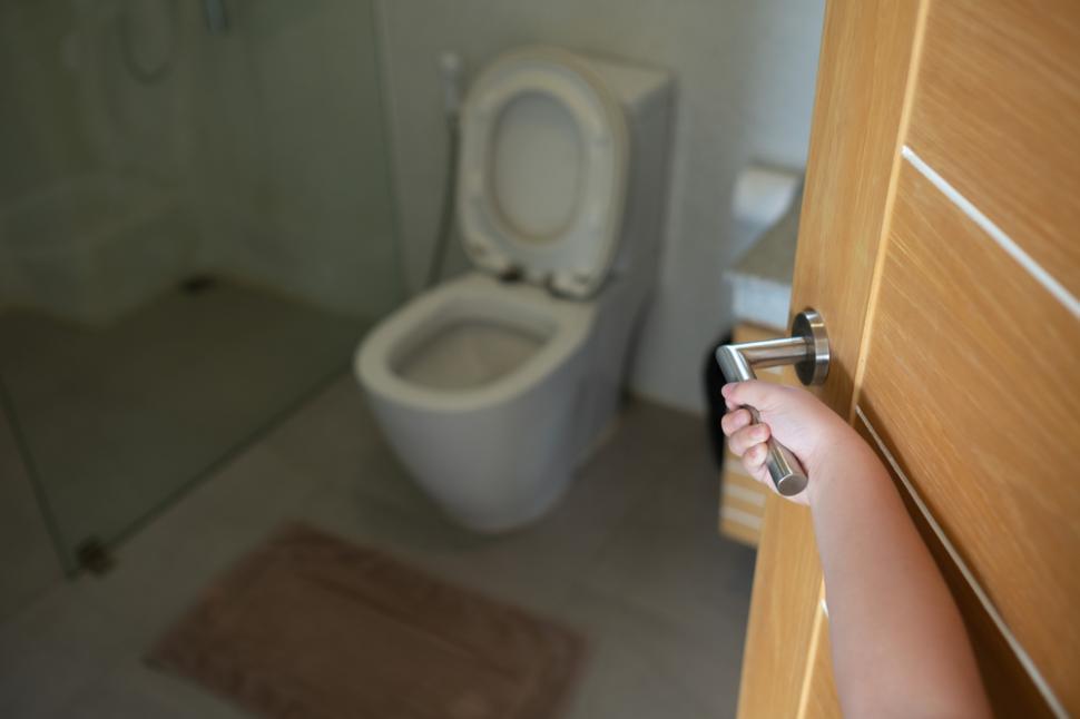 O bătrână a vrut să meargă la baie, dar când a ridicat capacul vasului de toaletă a încremenit. Peste ce a dat