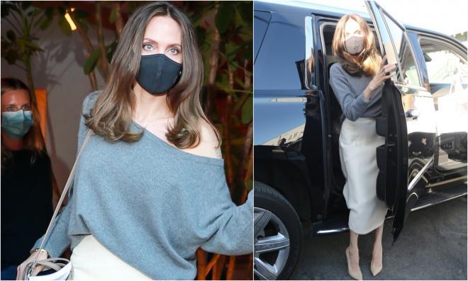 Angelina Jolie, apariție îngrijorătoare în public. Paparazzi au surprins detalii care trădează cât de slabă este